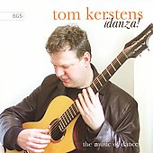Danza! Works by Brouwer, Falla, Piazzolla, Skempton, et al. / Tom Kerstens, guitar