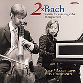 Bach: Sonatas for Viola da gamba / Tapio, Mustonen