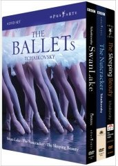Tchaikovsky: The Ballets: The Nutcracker, Swan Lake, The Sleeping Beauty [4DVD]