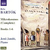 Bart&oacute;k: Mikrokosmos (Complete) / Jen&ouml; Jand&oacute;