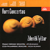 Mozart, et al: Horn Concertos / Tylsar, Belohl&#225;vek, Neumann