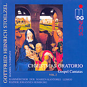 Stoltzel: Christmas Oratorio, et al / Handel's Company