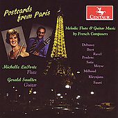 Postcards from Paris - Milhaud, etc / La Porte, Saulter