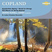 Copland: Appalachian Spring, Nonet, 2 Pieces for String Quartet / Davies, et al