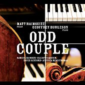 Odd Couple - Matt Haimovitz, Geoffrey Burleson - Barber, Carter, Sanford, Thomas