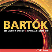 Bartók: Divertimento for String Orchestra, Romanian Folkdances, etc / Zeitouni, Les Violons du Roy