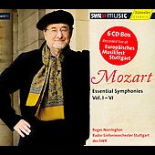 Mozart: Essential Symphonies Vol 1-6 / Norrington, et al