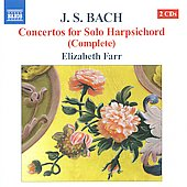 Bach: Complete Concertos For Solo Harpschord