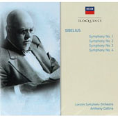 Sibelius: Symphonies Nos. 1 - 4 / Collins, London SO