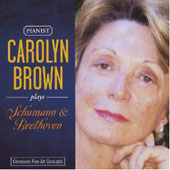 Carolyn Brown plays Schumann & Beethoven