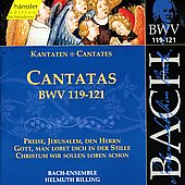 Bach: Cantatas, BWV 119-121