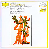 Orff: Carmina Burana / Jochum, Janowitz, Fischer-Dieskau