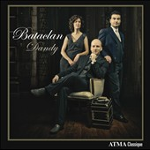 Bataclan Dandy / Denis Plante, bandoneon; Mathieu Lussier, basson; Catherine Perrin, clavecin