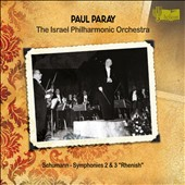 Schumann: Symphonies Nos. 2 & 3 / Paray, Israel Philharmonic
