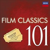 101 Film Classics - Classical music & original scores from Platoon; Out of Africa; Eyes Wide Shut; Ocean's 11; The Truman Show; Apocalypse Now; Titanic; The Lion King; Sea Hawk & more / Jansen, Caballé, Pavarotti, Ashkenazy, Sutherland et al. [6 CD