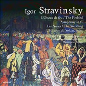 Igor Stravinsky: The Firebird; L'Histoire du Soldat, suite; Les Noces; Symphony in C / Neumann; Dohnanyi