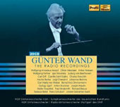 Günter Wand: The Radio Recordings - Works from Bach, Mozart and Schubert to Stravinsky, Webern and Ligeti [20 CDs]