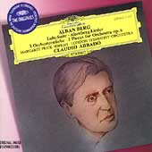 Berg: Lulu Suite, Altenberg-Lieder, etc / Abbado, Price