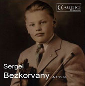 A Tribute to Sergi Bezkorvany - Violin sonatas by Elgar, Szymanowski, Turina; Martinu: Five Madrigal Stanzas / Sergi Bezkorvany, violin