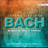 Bach: Sonatas for Flute & Harpsichord / Jean-Michel Tanguy, flute; Kristian Nyquist, harpsichord