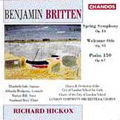 Britten: Spring Symphony, etc / Hickox, London SO & Chorus