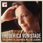 Frederica von Stade: The Complete Columbia Recital Albums - Works by Various Composers / Frederica von Stade, mezzo-soprano; London PO; Boston SO; Royal PO; Philharmonia Orchestra; Orchestra of St. Luke's