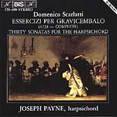 Scarlatti: Thirty Sonatas for Harpsichord / Joseph Payne