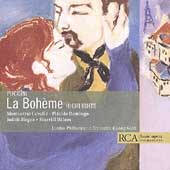 Puccini: La Boheme - Highlights / Solti, Caball&#233;, Domingo