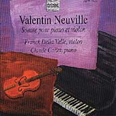 Neuville: Sonate pour piano et violin / Della Valle, Collet