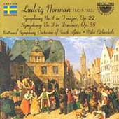 Norman: Symphonies no 1 & 3 / Eichenholz, South African NSO