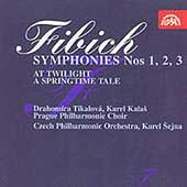 Fibich: Symphonies 1, 2, & 3, etc / Sejna, Prague PO