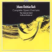 J.C. Bach: Complete Opera Overtures / Halstead, Hanover Band