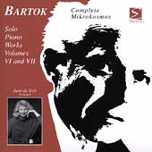 Bartók: Solo Piano Works Vol 6 & 7 / June de Toth