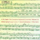 C.P.E. Bach: Complete Keyboard Concertos Vol 12 / Sp&#225;nyi