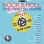 Various Artists: Rock & Roll - The First 50 Years: The '50s 25 Top 10 Hits