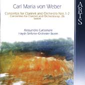 Weber: Concertos for Clarinet / Carbonare, et al