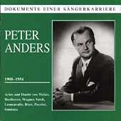 Dokumente Einer S&auml;ngerkarriere - Peter Anders