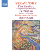 Stravinsky: The Firebird, Petrushka / Craft