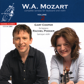 Mozart: Complete Sonatas for Keyboard and Violin Vol 2