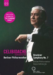 Celibidache conducts the Berlin Philharmonic - Bruckner: Symphony 7 [DVD]
