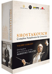 The Shostakovich Cycle: Complete Symphonies & Concertos / Mariinsky Theatre Chorus & Orchestra; Valery Gergiev [4 Blu-ray]