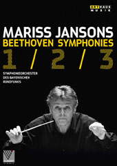 Beethoven: Symphonies Nos. 1, 2 & 3 / Bavarian Radio SO, Mariss Jansons (live, Suntory Hall, Tokyo, 2012)  [DVD]