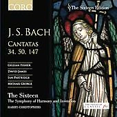Sixteen Edition - Bach: Cantatas 34, 50, 147 / Christophers