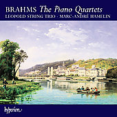 Brahms: The Piano Quartets, etc / Hamelin, Leopold Trio