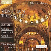 Venetian Treasures - Caldara, Gabrieli, etc / Christophers