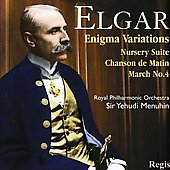 Elgar: Enigma Variations, Nursery Suite, etc / Menuhin, Royal PO