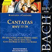 Bach: Cantatas, BWV 77-79