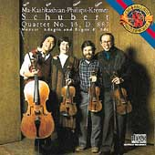 Schubert: Quartet no 15 / Ma, Kashkashian, Philips, Kremer