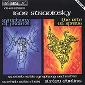 Stravinsky: Rite of Spring, etc / Ehrling, Swedish Radio SO