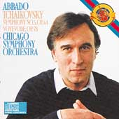 Tchaikovsky: Symphony no 5, etc / Abbado, Chicago SO